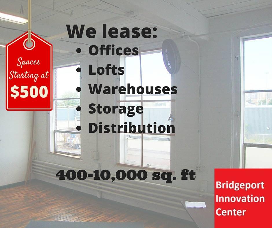 bic blog commercial space for lease bridgeport innovation center. Black Bedroom Furniture Sets. Home Design Ideas